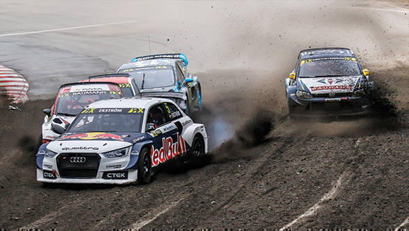 2016 FIA World RX Rallycross Championship / Round 11 / Buxtehude, Germany / October 14-16, 2016 // Worldwide Copyright:Colin McMaster/EKS/McKlein