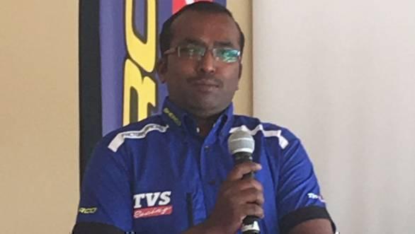 R Prakasam, Aravind KP's race mechanic for the 2017 Dakar Rally, has already spent the year prepping for the event in France