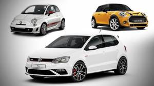 Spec comparo: Volkswagen Polo GTI vs Mini Cooper S vs Abarth 595 Competizione