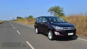 2016 Toyota Innova Crysta petrol road test review