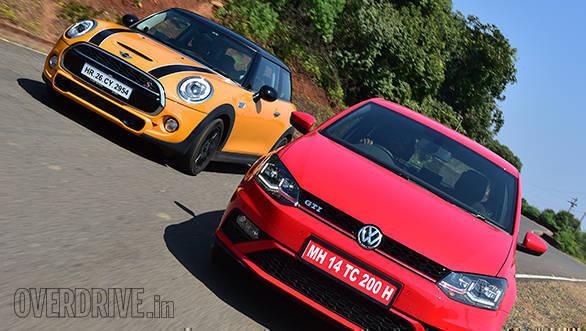 VW Polo GTI vs Mini Cooper S (5)