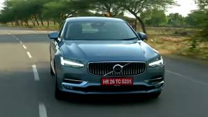 Volvo S90 D4 - First Drive Review (India) - Video