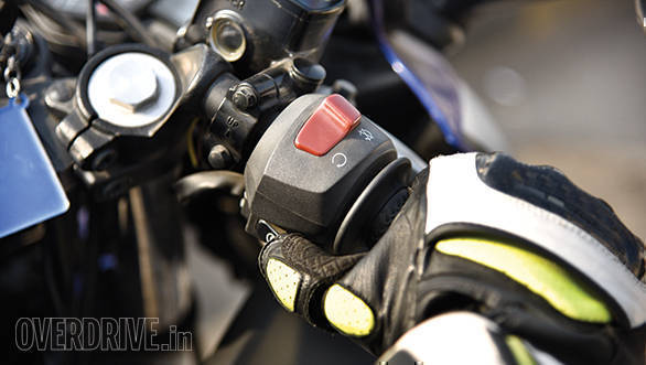 The check light showing up when you stall the bike is normal, but since this time it just came back from an oil pump replacement, I'm not taking any chances