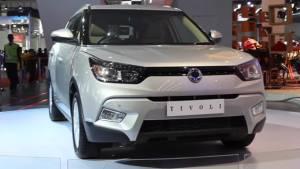 2016 Auto Expo SsangYong Tivoli showcased - Video