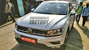 Spied: New Volkswagen Tiguan caught testing in India