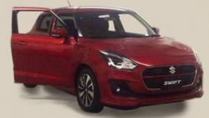 Leaked: 2017 Suzuki Swift image