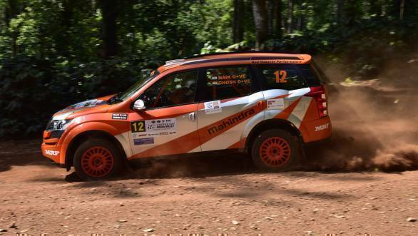 Amittrajit Ghosh and Ashwin Naik lead the INRC overall at the end of Leg 1 at Chikmagalur