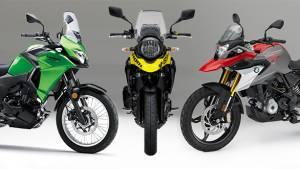 Spec comparo: BMW G 310 GS vs Kawasaki Versys-X 300 vs Suzuki V-Strom 250