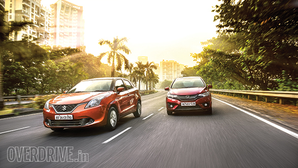 Baleno CVT vs Jazz CVT (3)