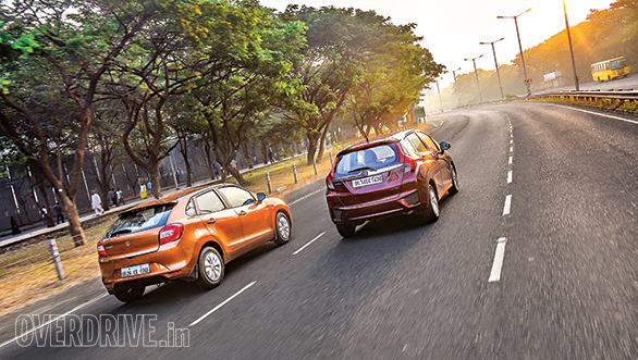 Baleno CVT vs Jazz CVT (4)