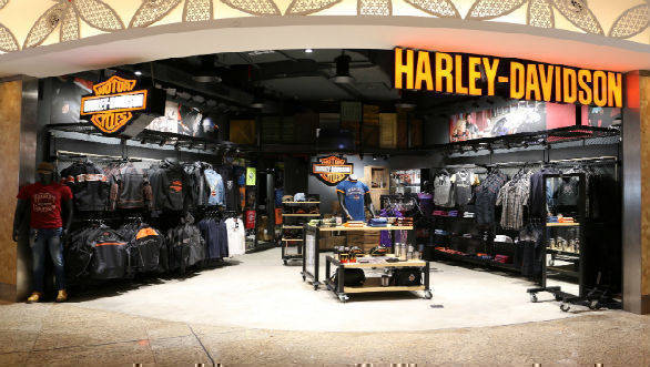 Harley-Davidson merchandise showroom 1