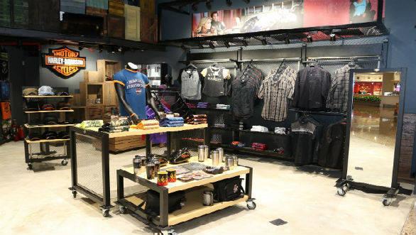 Harley-Davidson merchandise showroom 5