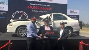 Mahindra, MSRDC and SaveLife foundation launch 'Safety under 80' campaign