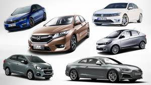 Sedans to be launched in India in 2017