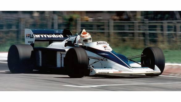 Nelson Piquet in the Brabham