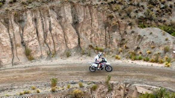 CS Santosh - Hero MotoSports Team Rally - Dakar 2017 Stage 5