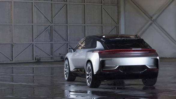 Faraday Future FF91 Three