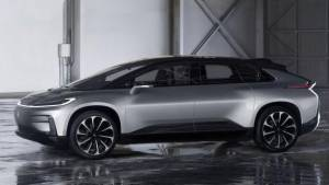 CES 2017: Faraday Future reveals FF 91