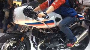 First look_ BMW 2017 K1600GT, RnineT Racer and R nineT Pure showcased at Intermot 2016 - Video