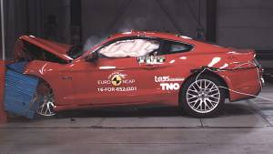 Ford Mustang scores two stars in Euro NCAP crash tests
