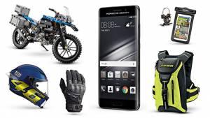 Gear and gadgets: AGV Corsa R, Ixon RS Grip, Lego BMW R 1200 GS Adventure, jcMoto shock absorber lamp