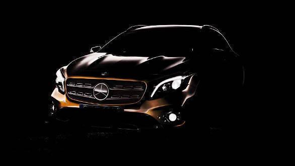 Mercedes-GLA-facelift-teased