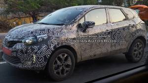 Spied: Renault Kaptur caught testing in India