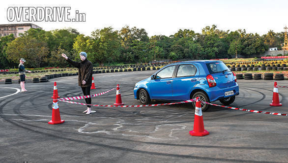 The Etios Liva managed a good score thanks to effective brakes and impressive dynamics