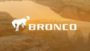 Ford Bronco SUV to make a comeback in 2020