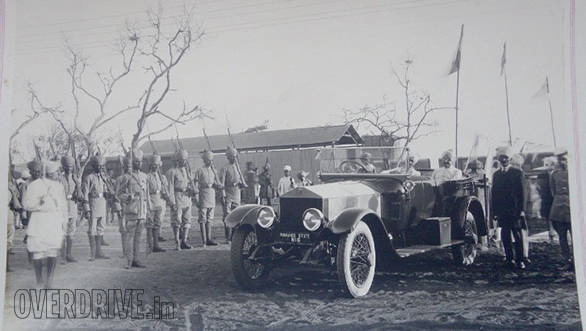 17-D- The 1921 Silver Ghost sometime in 1920's