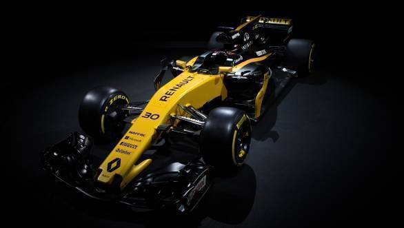 2017 F1 Renault F1 car launch