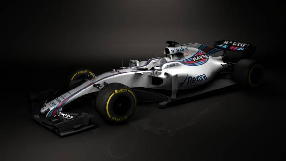 The Williams FW40 shows that cars for 2017 will be lower and wider