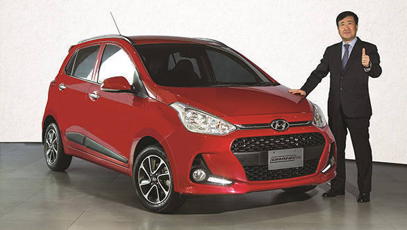 The face-lifted Hyundai Grand i10 starts at Rs 4.58 lakh for the petrol and Rs 5.68 lakh for the diesel variant