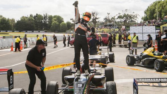 2017 New Zealand Grand Prix Jehan Daruvala 1