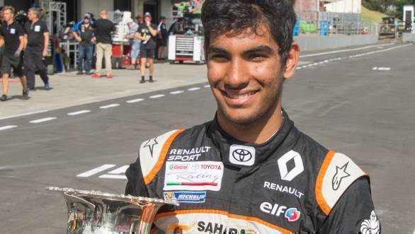 2017 New Zealand Grand Prix Jehan Daruvala 2