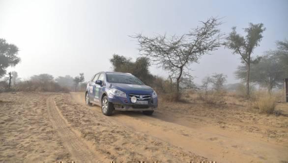 3rd leg of Maruti Suzuki Desert Storm