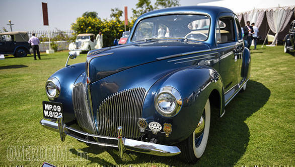 42- A 1938 Lincoln Zephyr owned by Dr.Ravi Prakash