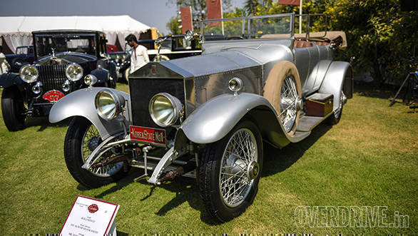 46-Pre-War Classic Rolls-Royce Grand prize winner 1921 40-50 HP Silver Ghost owned by Inder Krishnamum