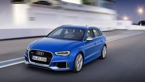 2017 Geneva Motor Show: Audi to showcase RS3 Sportback