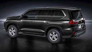 Preview: Lexus LX 450d