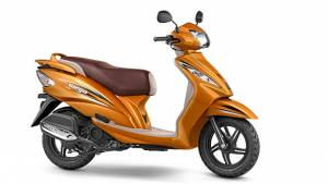TVS launches the 2017 Wego in India at Rs 50,434