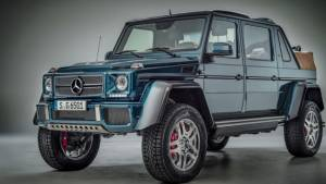 Mercedes-Maybach G 650 Landaulet final unit to be auctioned for charity