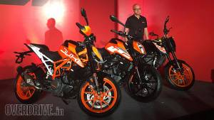 2017 KTM 390 Duke launched in India at Rs 2.25 lakh
