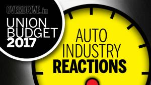 Union Budget 2017: Auto industry reactions