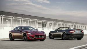 2017 Geneva Motor Show: Special edition Maserati GranTurismo and GranCabrio Sport showcased
