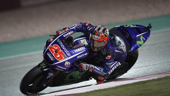 2017 MotoGP Qatar Maverick Vinales pole