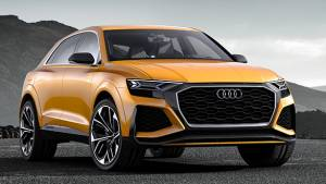 2017 Geneva Motor Show: Audi Q8 sport concept with hybrid powertrain revealed