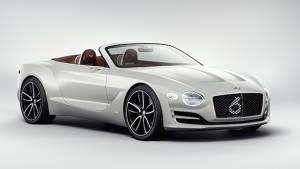 Bentley EV might be based on the Porsche Mission E platform