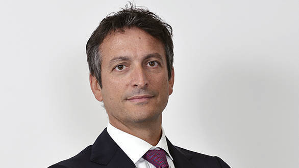 Enrico Galliera, the chief marketing and commercial officer of Ferrari