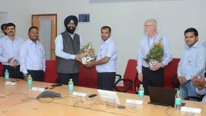 General Motors signs a three-year wage agreement with the employees union at their Talegaon plant